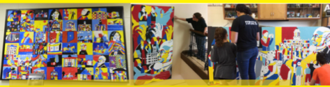 Indiana School for the Deaf DAIR - 5 Murals (spring 2017)